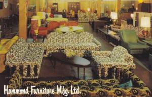 Hammond Furniture Mfg. Ltd , VANCOUVER , B.C. , Canada , 1940-60s