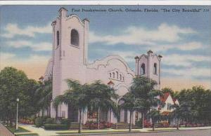 Florida Orlando First Presbyterian Church The City Beautiful