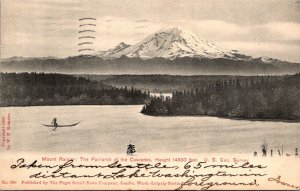 Washington Mount Rainier The Patriarch Of The Cascades 1906