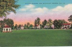 Alabama Anniston Officers Quarters Fort McClellan