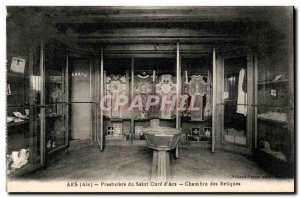 Old Postcard Ars Presbytere cure saint of d & # 39ars House of relics