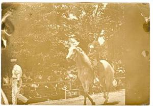 RP, Parade For State Firemen, Man From The Anderson Fire Department On A Hors...