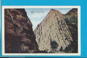 Postcard The Narrows Ogden Canyon, Utah   #  229