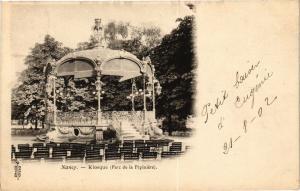 CPA Nancy-Kiosque-Parc de la Pépiniére (188202)