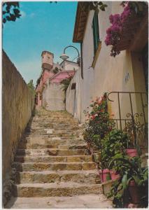 Portoferraio, Scalinata, Forte Stella, used Postcard