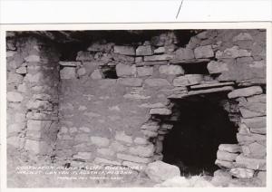 Arizona Flagstaff Doorway Ancient Cliff Dwellings Walnut Canyon Real Photo