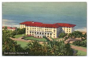 1953 Hotel Condado, San Juan, PR Postcard