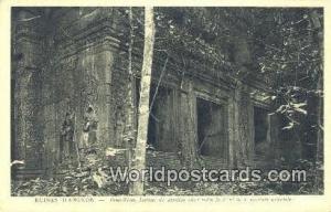 Ruines D'Angkor Cambodia, Cambodge Prah Khan, Liateau du pavillion Ruines D'A...