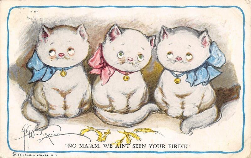 Grace Wiederseim~3 Little Kittens: No Ma'am~We Ain't Seen Your Birdie!~Feathers
