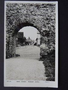 East Sussex PEVENSEY CASTLE Roman Gateway c1950's RP Postcard by Frith