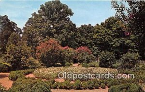 Garden, Hermitage, Andrew Jackson Nashville, TN, USA Unused