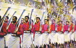 Fiji Royal Military Force On The March