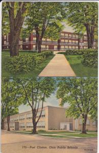 Public Schools, PORT CLINTON, Ohio, 30-40's