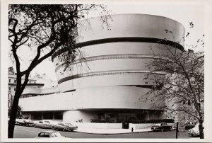 Guggenheim Museum New York NY Unused Vintage RPPC Postcard C3