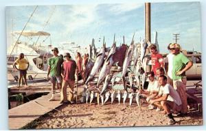 Oregon Inlet Fishing Center Atlantic Ocean Sport Fishing Vintage Postcard D96