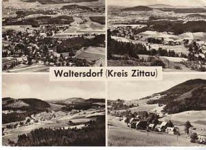 Germany Waltersdorf (Kreis Zittau) B&W View