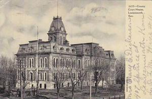 County Court House, Leavenworth, Kansas, PU-00-10s