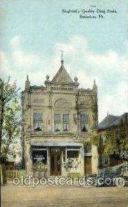 Siegfried's Quality Drug Store, Bethelem, PA, Pennsylvania, USA Drug Store Un...