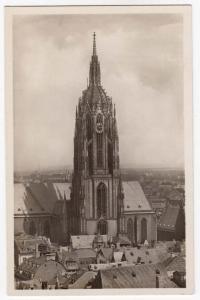 Frankfurt a.M. Dom Autnahme von Rolf Kellner, Karlsruhe i.E.