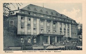 Germany Wiesbaden Kaiser Friedrich Bad Maison des Bains Bath house. 02.63