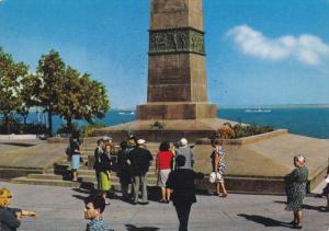 ODESSA, Russia, 1950-1970's; Le Monument Au Marin Inconnu