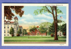 Beautiful Elmhurst, Illinois/ILPostcard, Elmhurst College