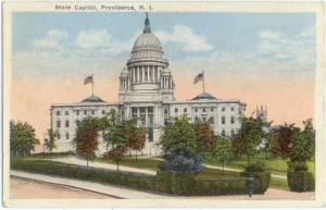 Linen of State Capitol in Providence Rhode Island RI