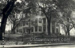 Stanton Hall  - Real Photo Natchez MS Unused