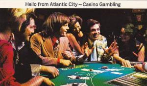 New Jersey Atlantic City Blackjack Table