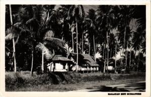 SINGAPORE PC REAL PHOTO Malayan Hut (a1454)