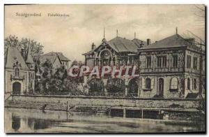 Postcard Old Saargemund Fabrikkasino