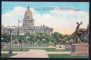 State Capitol Denver Colorado unused c1930's