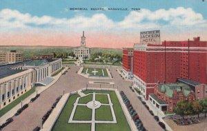 NASHVILLE , Tennessee , 1930-40s ; Memorial Square