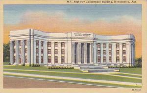 Highway Department Building, Montgomery, Alabama,  30-40s