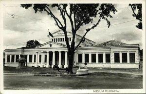indonesia, JAVA JAKARTA, Mesium Museum (1953) RPPC Postcard