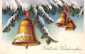 Froehliche Weihnachten, Christmas, Winter, Bells 1938
