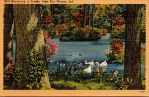 Indiana Fort Wayne Bird Sanctuary In Franke Park