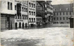 CPA AK Nürnberg Hochwasser-Katastrophe  Obstmarkt GERMANY (644624)