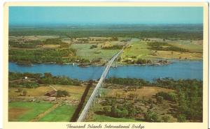 Thousand Islands International Bridge, New York, Postcard