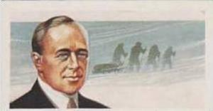 Brooke Bond Tea Vintage Trade Card Famous People 1967 No 26 Robert Falcon Scott