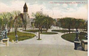 View From Capitol Approach, Albany, New York, PU-1909