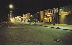 Main Street , ROBERVAL , Quebec  , Canada , 50-60s