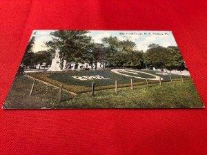 1910 postcard ELKS FLORAL DESIGN N.S. Pittsburg PA, Fort Pitt Pub.