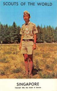 Scouts of the World: Singapore (1968 Boys Scouts of America) Uniform