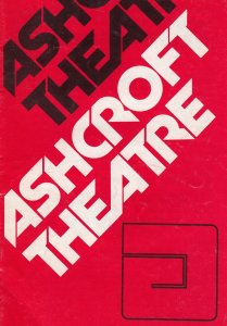 Roy Hudd Coronation Street Croydon Surrey Old Musical Type Show Theatre Progr...