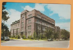The American School Historic Building Damaged Postcard Chicago, Illinois