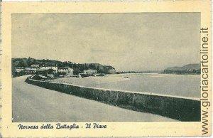 03726 CARTOLINA d'Epoca - TREVISO: NERVESSA DELLA BATTAGLIA
