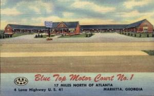 Blue Top Motor Court No. 1 Marietta GA Unused