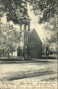 Saugerties NY Lutheran Church c1905 TUCK Postcard