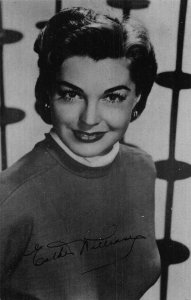Esther Williams Starring in M.G.M. Easty to Love FIlm Star Postcard